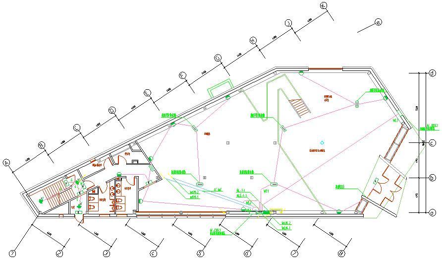 RevitMEP异型会所CAD配套文件