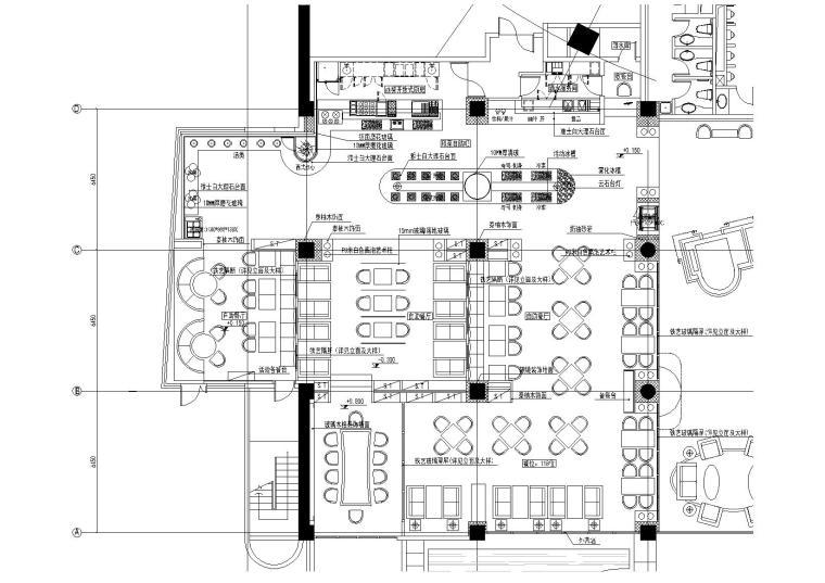 [南京]古南都酒店公区改造方案项目最终图纸