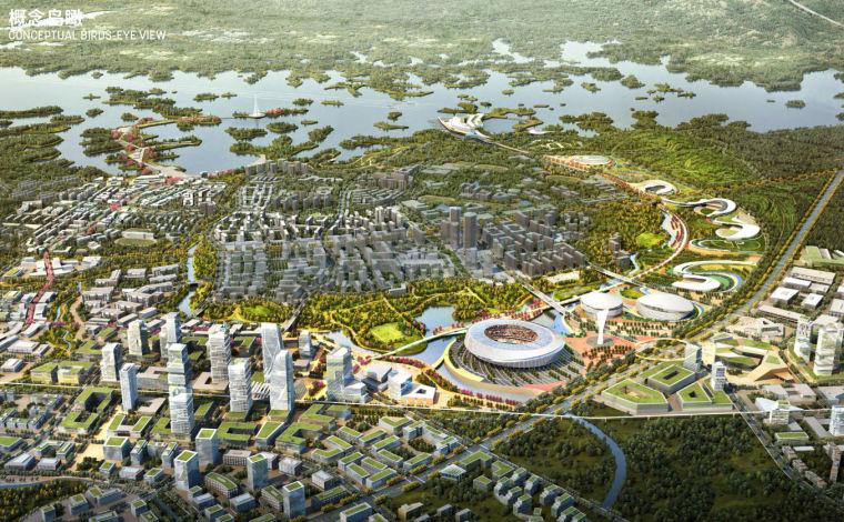 [四川]成都天府奥体城概念性规划及城市设计
