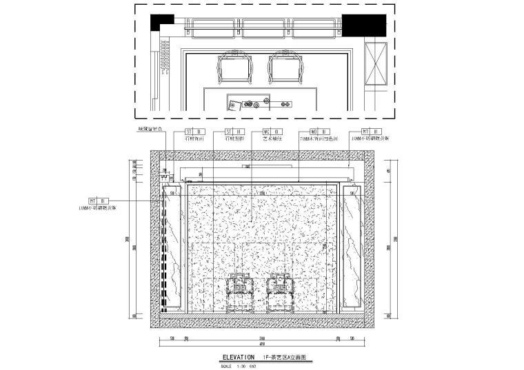 温哥华森林_别墅样板间_装修设计施工图_别墅效果图_北京墨谷空间装饰设计规划公司