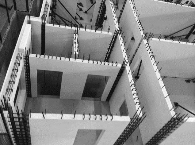 预制混凝土构件的深化设计-预制混凝土墙板安装示意图