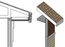欧特克revit资料下载-Revit屋檐怎么创建?
