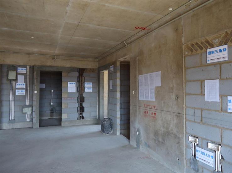 11楼层砌筑样板
