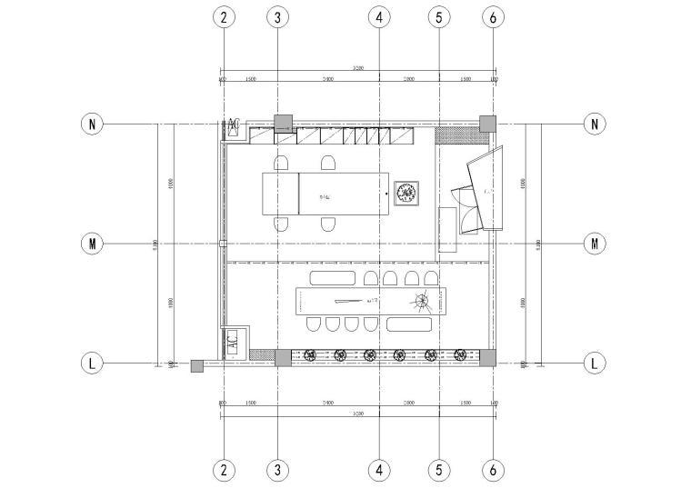 [苏州]大汉富邦办公室设计施工图+官方摄影