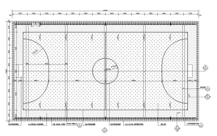 园建标准构造图集|五人制足球场大样图