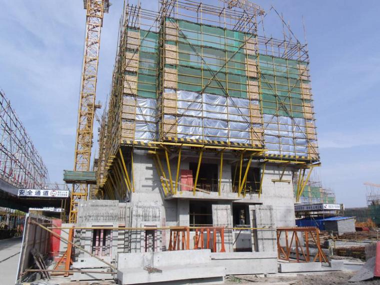 住宅项目土建、装饰同步施工措施汇报PPT