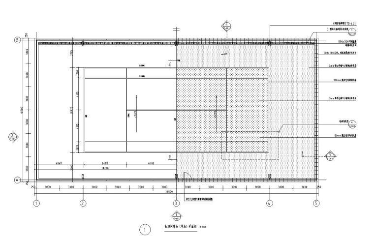 园建标准构造图集|网球场大样图