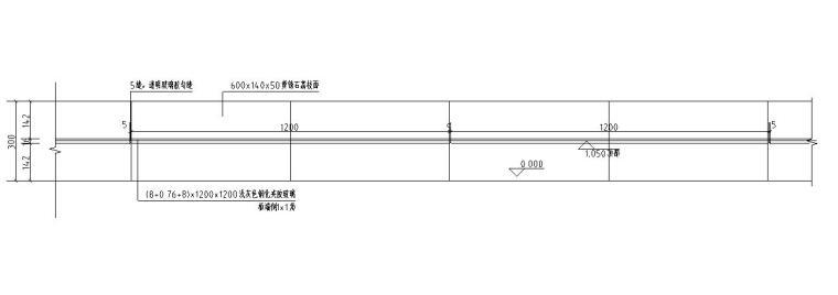 园建标准构造图集|玻璃栏杆详图