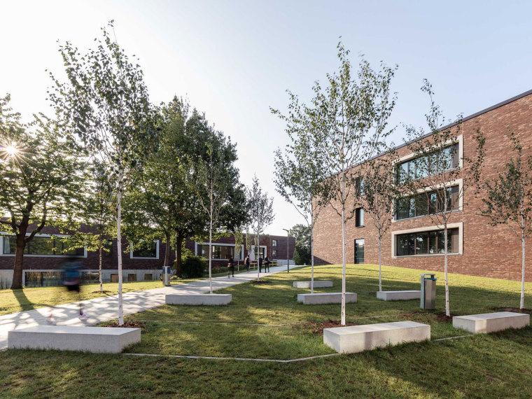 德国莱辛学校景观