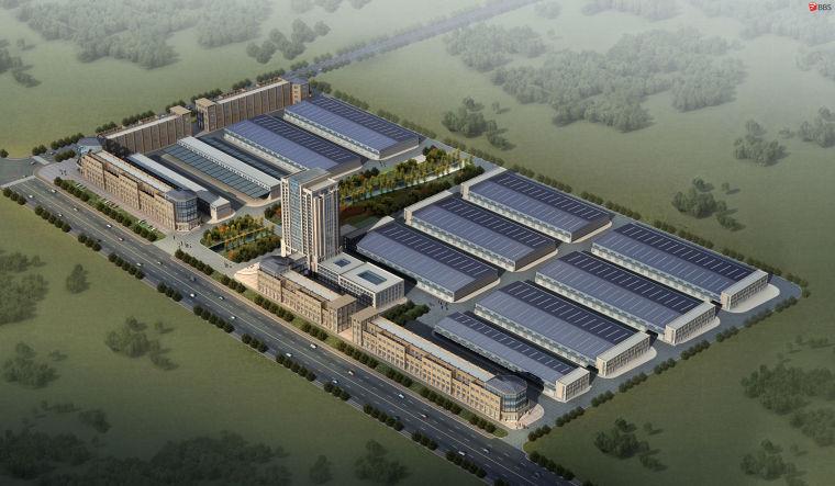 产业园-办公-上海人民电器方案模型设计