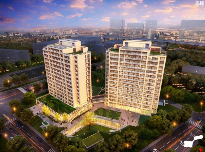 上海某装配式高层医疗养老中心规划方案文本