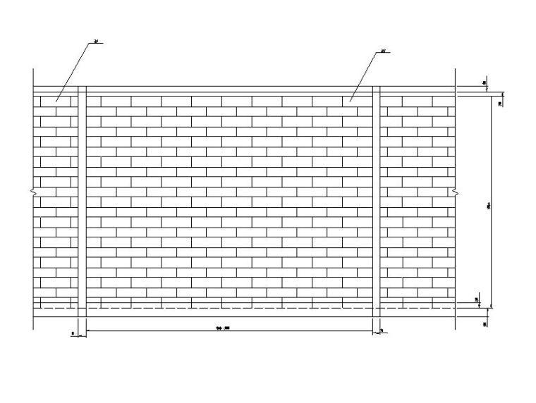 加筋挡土墙工程图集CAD