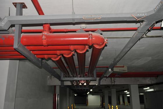 建筑消防安装工程施工质量检查验收记录表