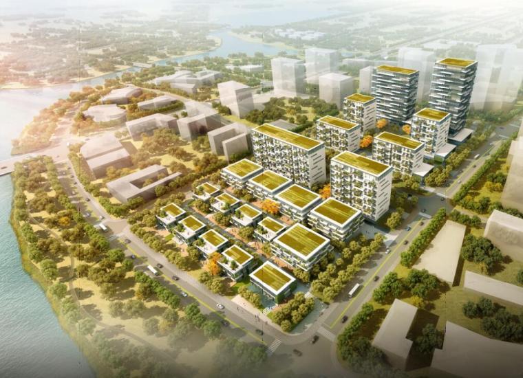 [山东]青岛海尔智谷概念规划建筑方案