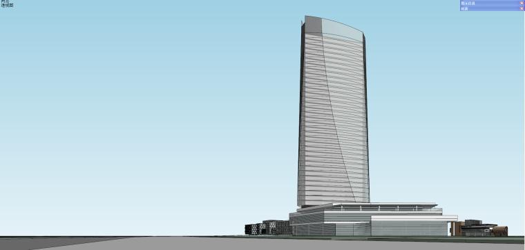 产业园办公综合园区建筑模型设计