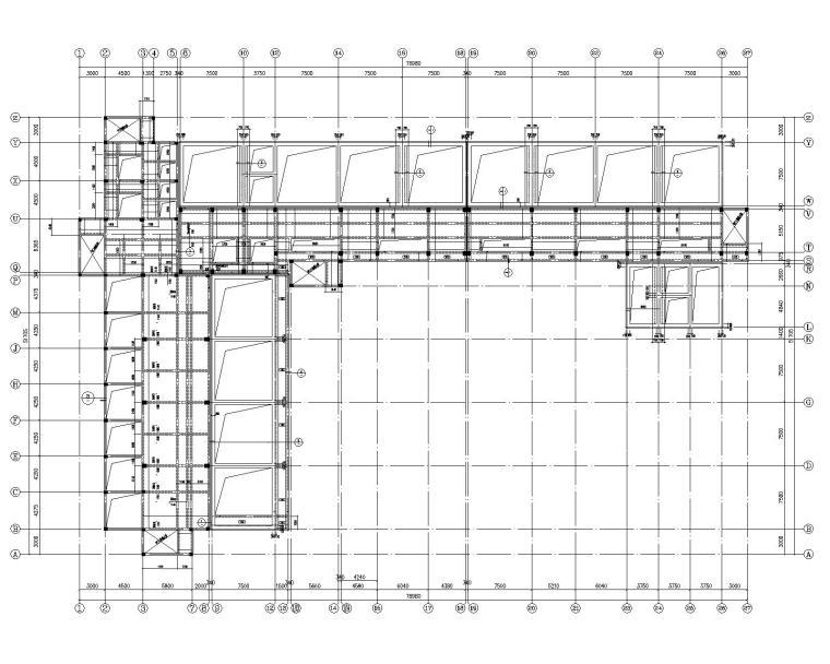 某废水处理车间混凝土结构施工图(CAD)