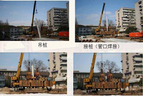 地基与基础工程常见质量通病(93页)-预应力管桩静压桩施工过程