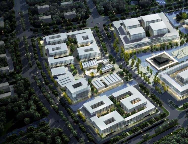 方太理想城未来总部园区投标文本设计