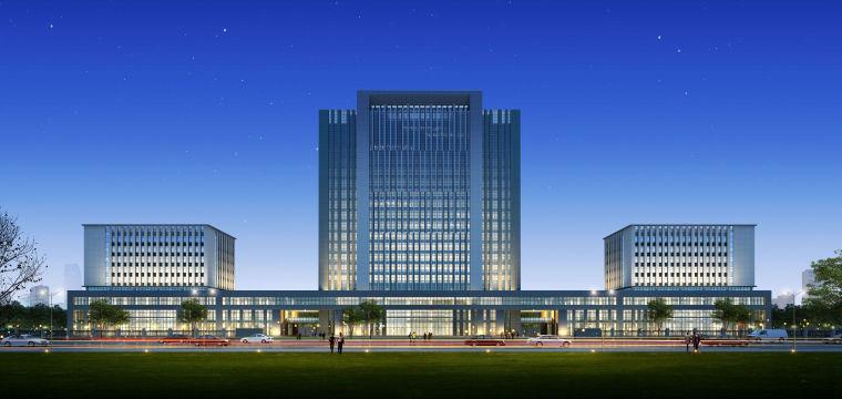 物流園辦公及廠房辦公產業園建筑模型設計