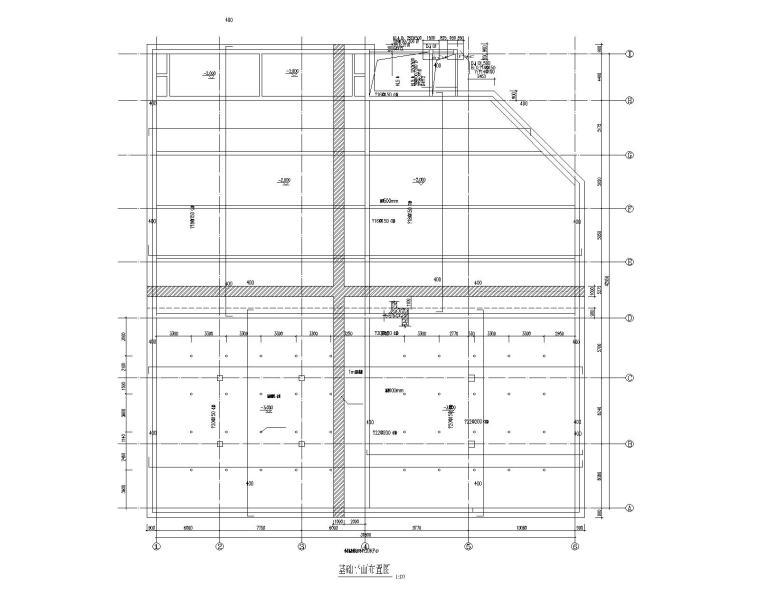 详细中小型工业废水预处理站建筑结构施工图