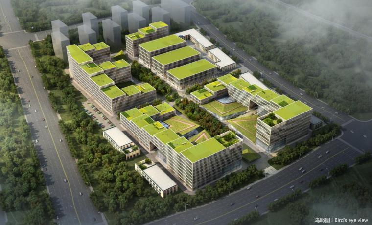[河南]富士康研发中心办公楼方案建筑设计