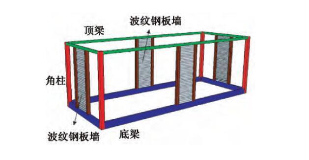 学生公寓可研报告资料下载-某模块化钢结构大学生公寓结构设计