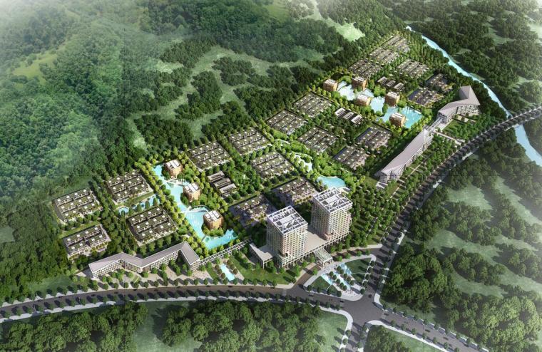 [海南 ]现代风格动漫产业基地动漫城建筑