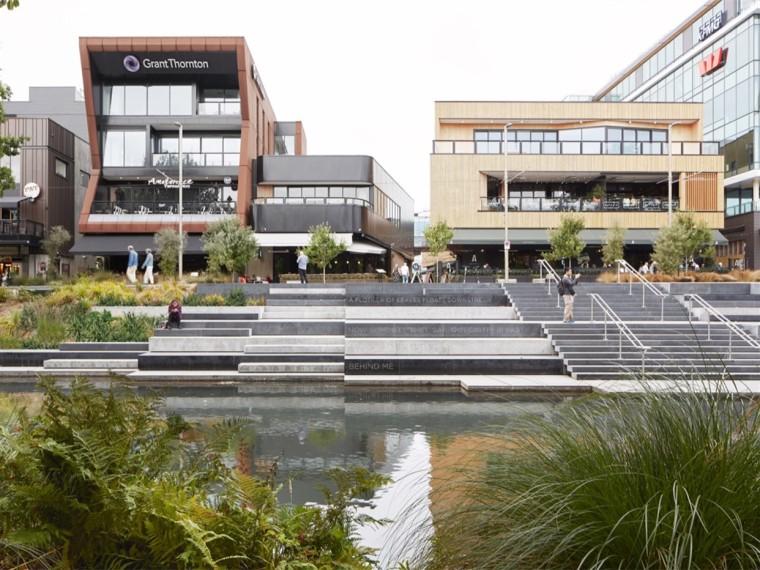 新西兰雅芳河公园露台和城市长廊