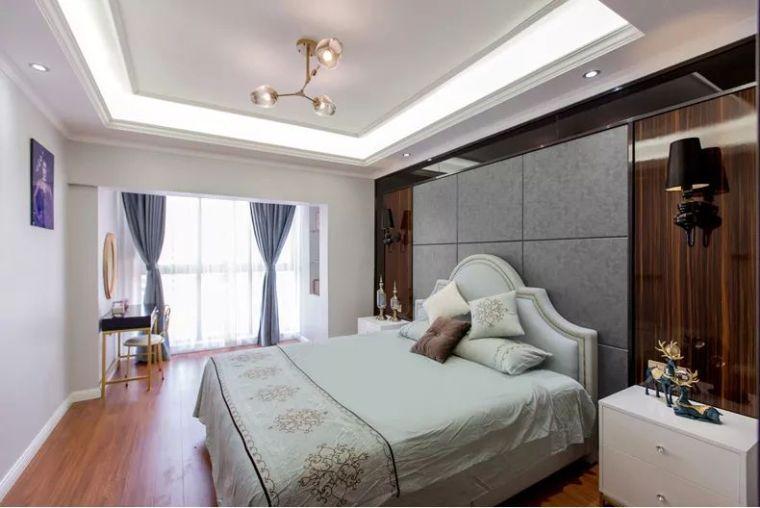 106平现代轻奢风二居室,时尚客餐厅超酷_6