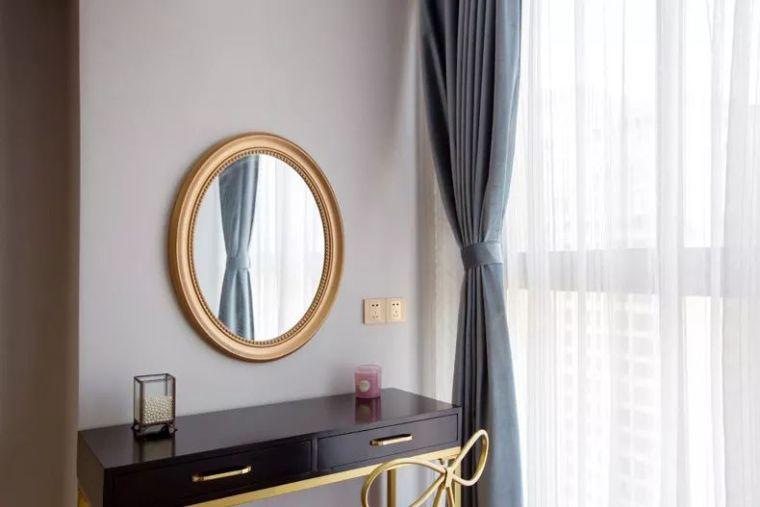106平现代轻奢风二居室,时尚客餐厅超酷_7