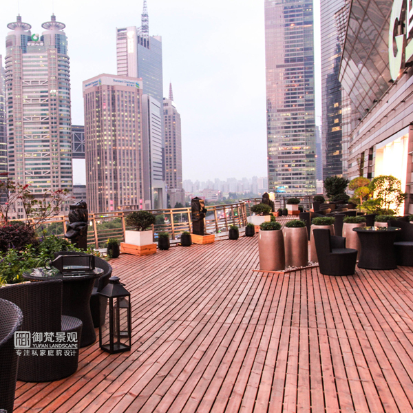 叠院屋顶花园设计的N种打开方式[御梵景观