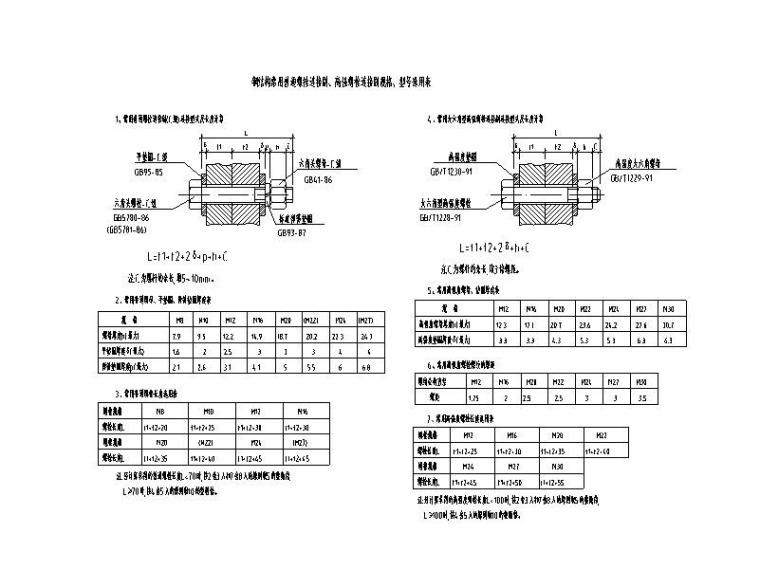 门式刚架-标准件节点详图CAD