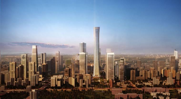 北京中信总部大厦设计方案+效果图+官方摄影