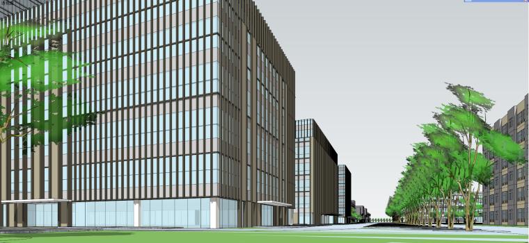 產業園-科技產業園建筑模型設計