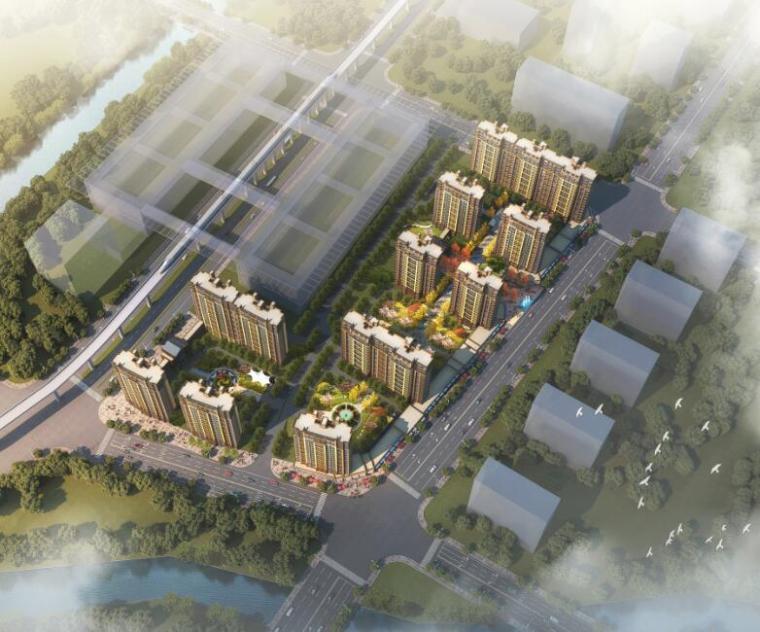 [浙江]欧陆风格住宅居住区规划方案文本