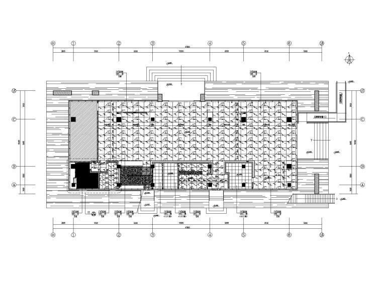 惠州东园营销中心设计方案+效果图+CAD平面
