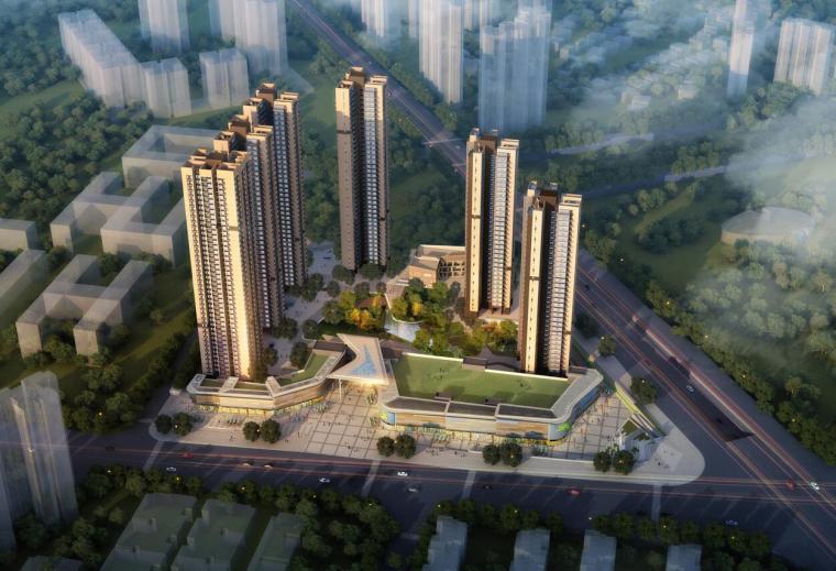 [广东]万科现代风格住宅建筑方案设计