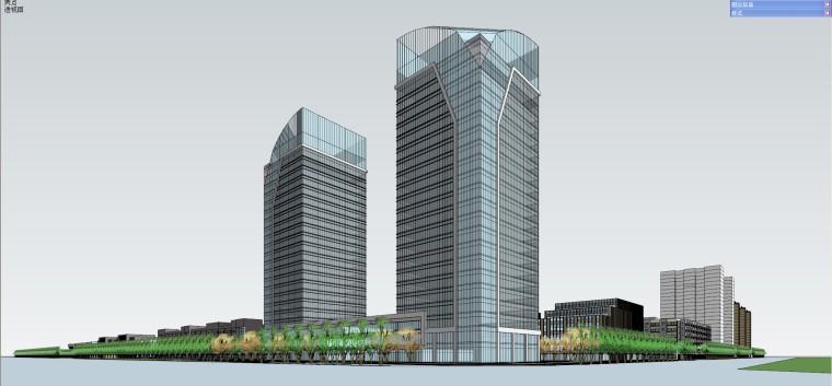 產業園-規劃-科技產業園的規劃建筑模型設計