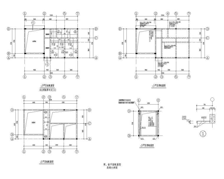 某垃圾站结构大样施工图(CAD)