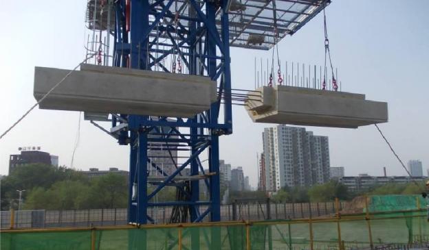 装配式构件安装施工工法工作总结