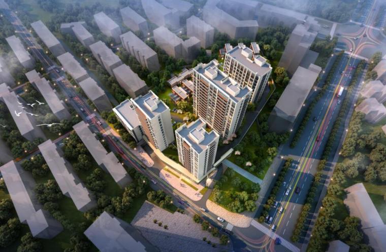 [浙江]商品住宅兼商务居住区建筑方案设计