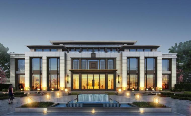 [江苏]高端住宅区规划及建筑方案