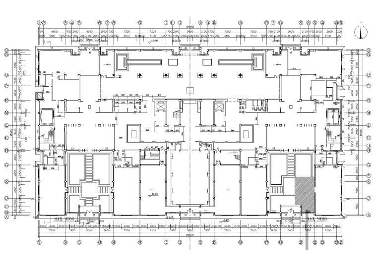 北京燕佳--閩商會所裝飾項目施工圖+效果圖