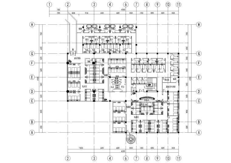 [苏州]影帝天池之星宾馆二层浴场项目施工图