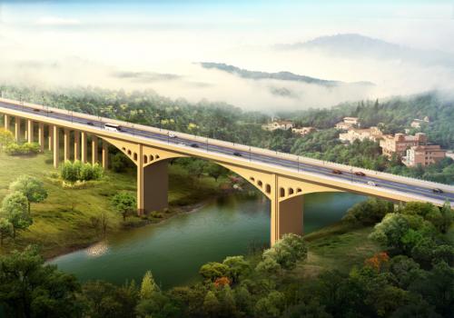 桥梁设计方案汇报材料资料下载-三跨变截面连续梁桥工程创优汇报材料