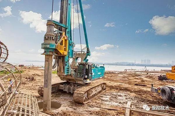 喀斯特地貌干作业法旋挖成孔灌注桩施工技术