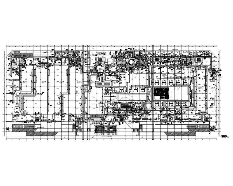 北京市美罗城改造项目暖通施工图