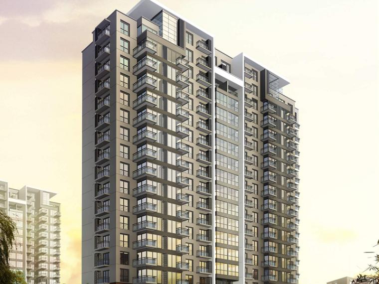 剪力墙结构高层住宅工程施工组织设计