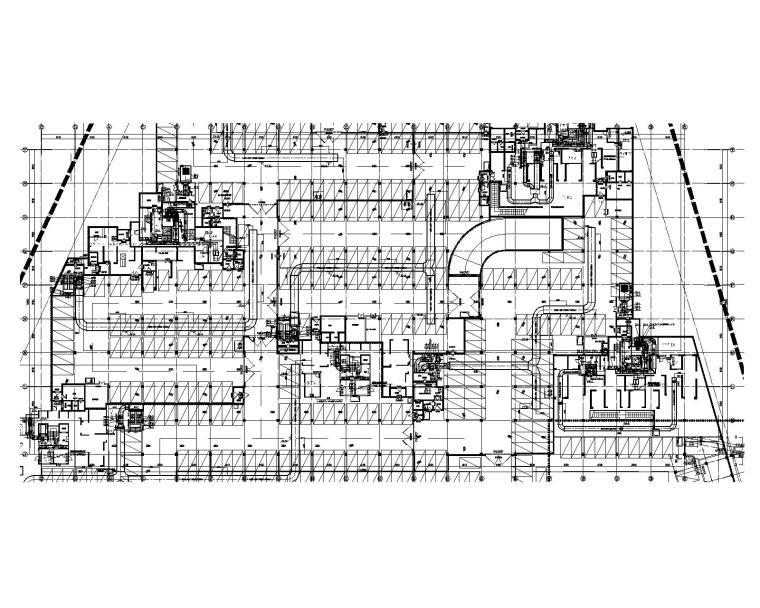 天津市津海湾项目地下车库暖通施工图
