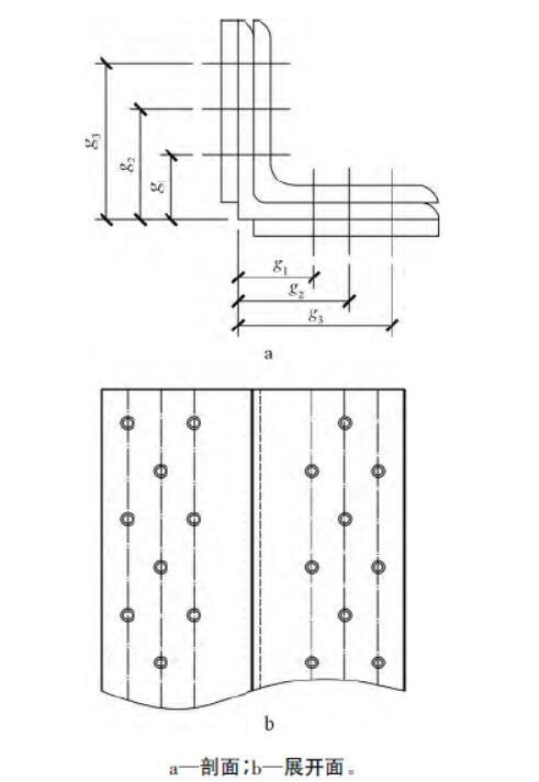 输电铁塔大角钢节点螺栓排布方案优化分析